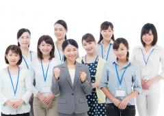 オフィスワーク 女性 複数