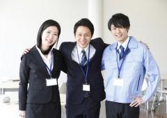 オフィスワーク 男女 (2)