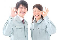 作業服 男女 (1)