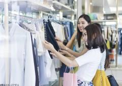 女性 服買い物