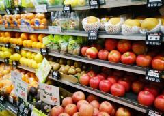 果物売り場 販売 イメージ