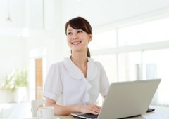 オフィスワーク 女性 (2)
